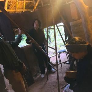 内屋根の検討と壁補修