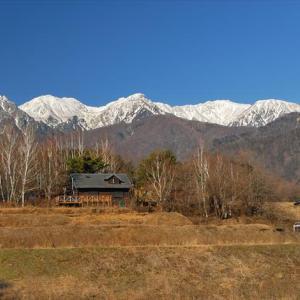 ★雪山讃歌★中央アルプス雪景色 .。oO