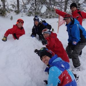 01.18~20 スキー・スノボ合宿