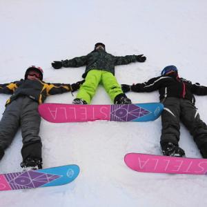 02.1~3 小学生3人とスキー