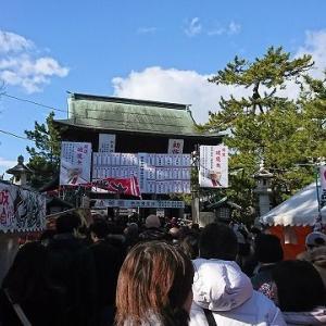 白山神社の初詣