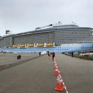 豪華客船を観に行ってきました。