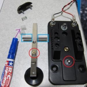 電鍵 キー モールス信号 ハイモンド HK-705 HE-007 補修