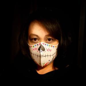 セコセコとコスプレ用マスク製作ちぅ
