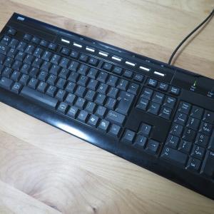 新しいキーボード ロジクールKX800