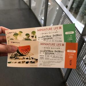 ミニチュアライフ展&お祝い会(^^♪