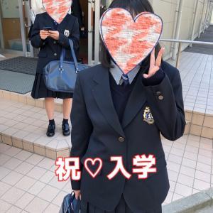 入学式でした(^^♪