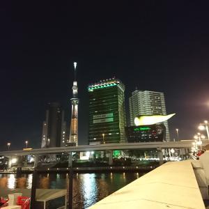 吾妻橋よりの夜景