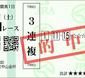 ■万馬券キタ━━ヽ(☆∀☆ )ノ━━!!! 2019-1