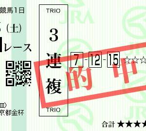 ■万馬券キタ━━ヽ(☆∀☆ )ノ━━!!! 2019-2