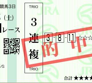 ■万馬券キタ━━ヽ(☆∀☆ )ノ━━!!! 2019-3
