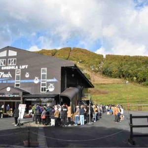 長野キャンピングカー2020秋⑩ 紅葉の岩岳
