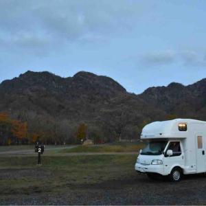 長野キャンピングカーの旅2020秋⑬ 鏡池の紅葉