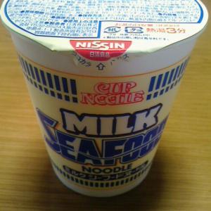 ミルクの香りが食欲をそそる!日清の『ミルクシーフードヌードル』を食べてみた!カロリーは389kcal