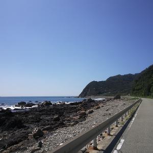 今日はサイクリングと海水浴。疲れました。日御碕と産湯海岸。