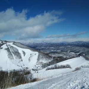 二日目は白馬に移動して鹿島槍スキー場。