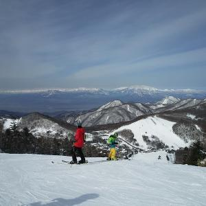 今週は志賀高原にやってきました。