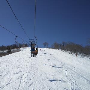 今日はかぐらスキー場晴れました。
