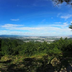 大阪府と奈良県の境にある二上山へ登ってきました。