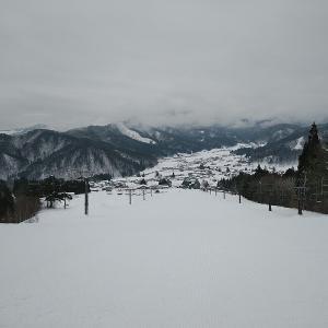 ひだ流葉スキー場に大阪から日帰りしてきました。
