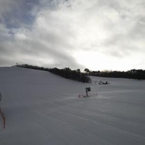 ひるがの高原スキー場に来ました。想像以上にグッド。