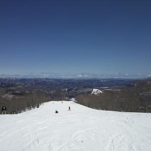 高鷲スノーパークとダイナランドで滑ってきました。