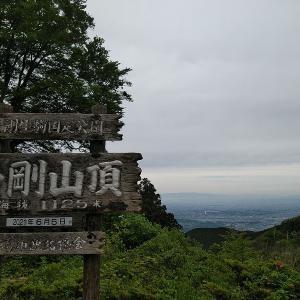 梅雨の合間に金剛山へ登ってきました。