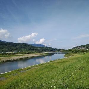 連休最後に和歌山の紀ノ川をライドしてきました。