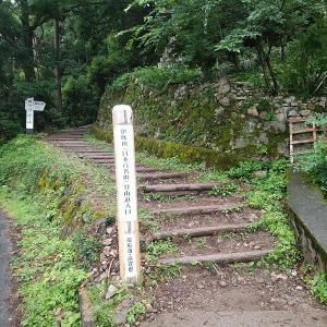 上高地でのテント泊は中止して伊吹山に登りました。