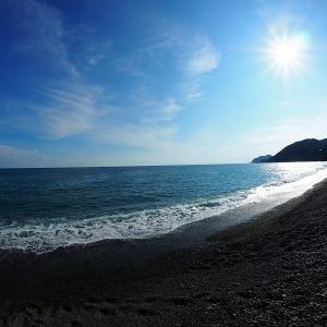 仕事でお疲れ気味なので海を見に行ってきました。