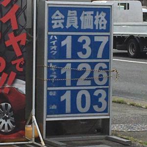 ガソリンの値下げ