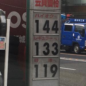 ガソリン高くなった