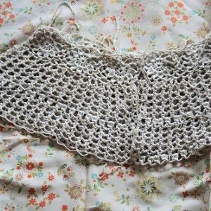 ボレロの編み直し