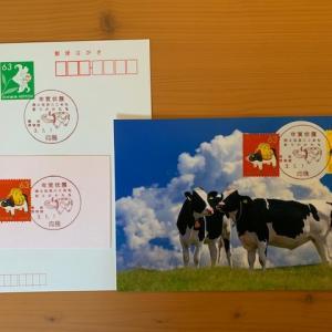 小型印・年賀状展郷土玩具にこめた祈りのかたち@向島郵便局