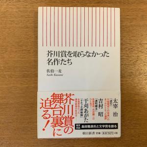 佐伯一麦「芥川賞を取らなかった名作たち」
