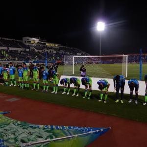 横浜vs湘南@ニッパツ三ツ沢球技場(参戦)