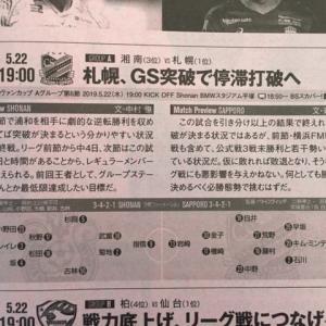 今日は札幌戦