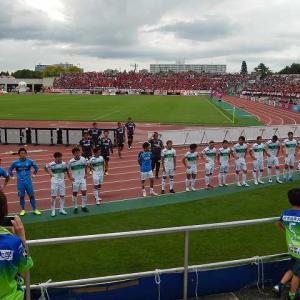 札幌vs湘南@札幌厚別公園競技場(参戦)
