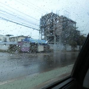 ラオスは今日も雨だった