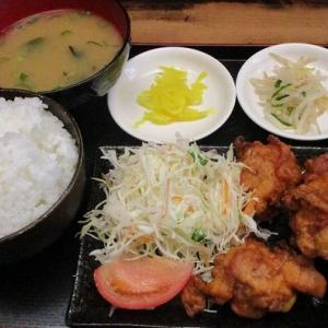 650円唐揚げ定食「居酒屋 こうちゃん」