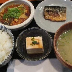 750円一口カツ&鯖の塩焼き「「旬彩 かどかぜ」