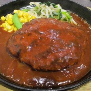 200g ジューシーハンバーグランチ 「欧風鉄板肉バル MARBLE」