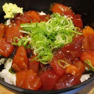 500円でうどん付きマグロ漬け丼~6月22日オープン 「立ち寿司 まぐろ一徹 天六店」