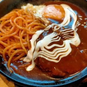 500円煮込みハンバーグ定食 「Cafe No-Da」