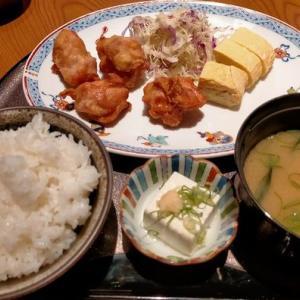 580円唐揚げ定食 「居酒屋 ふじや 民芸店」