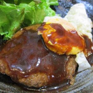 ハンバーグランチ~5月3日オープン「ご飯とお酒 彩花菜」