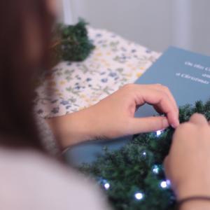 「クリスマスツリーパネル」レッスン風景♪