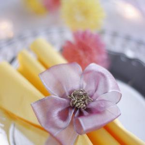 ワークショップ「LIGHTNESSな花のナプキンリング」のご案内♪