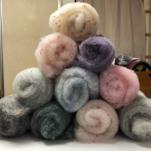 all about the wool 15搬入してきました