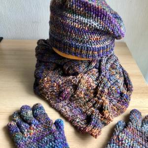Targhee  で Crepe Yarn